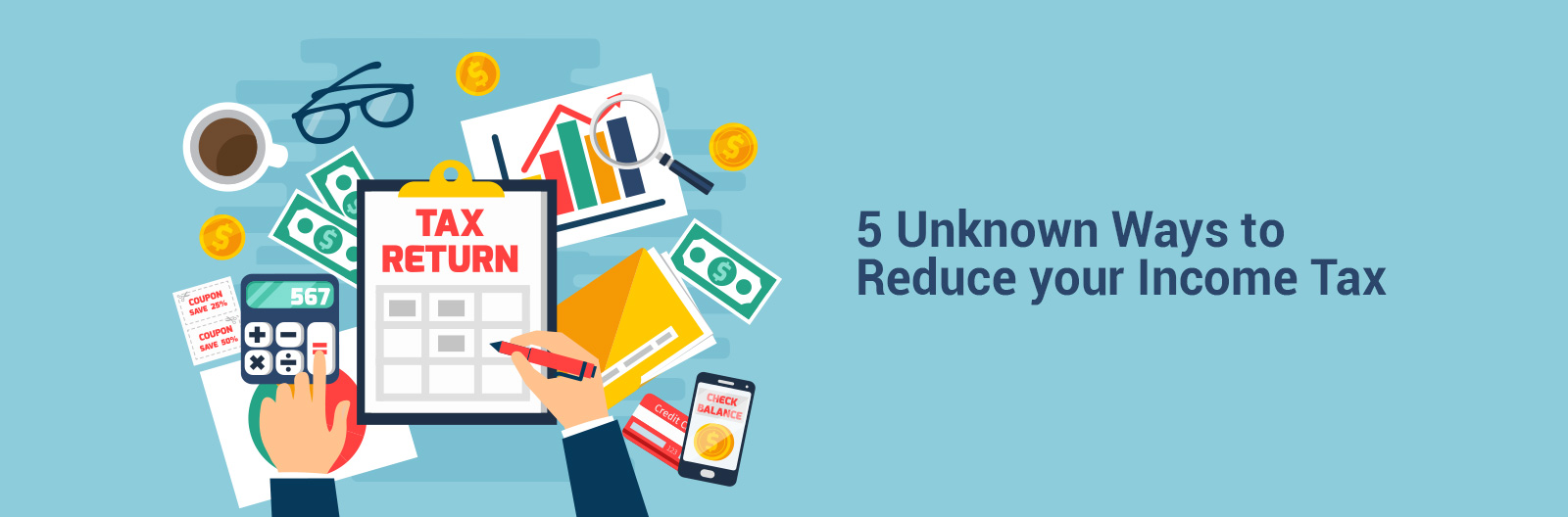 5 unknown ways to reduce your income tax